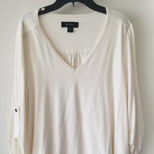 KAREN KANE white long sleeves L